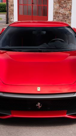 Ferrari SP38, 2018 Cars, Luxury cars, 4K, 8K (vertical)