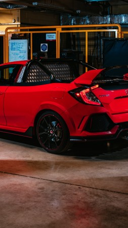 Honda Civic Type R Pickup Truck Concept, 2018 Cars, 4K (vertical)