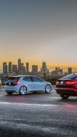 Volkswagen ID Buzz, Volkswagen ID, Volkswagen ID Crozz, 2021 Cars, electric car, 4K, 5K (vertical)