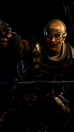 Call of Duty Black Ops 4, screenshot, 4K (vertical)