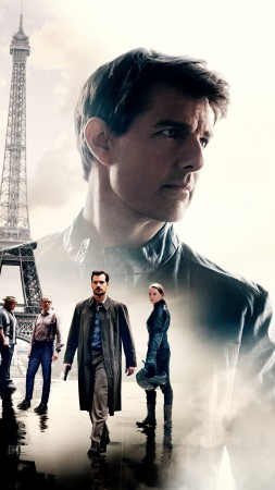 Mission: Impossible - Fallout, poster, Tom Cruise, 4K, 12K (vertical)