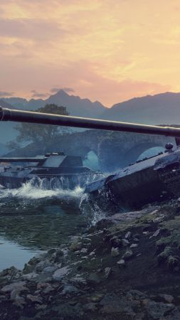 River, World of Tanks 1.0.2, 4K (vertical)