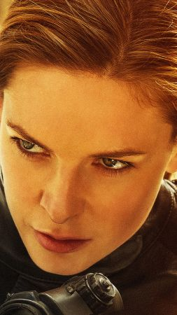 Mission: Impossible - Fallout, Rebecca Ferguson, 4K (vertical)