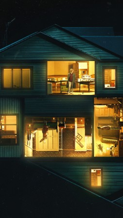 Hereditary, Toni Collette, Gabriel Byrne, Alex Wolff, poster, 4K (vertical)