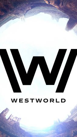 Westworld Season 2, Logo, TV Series, 4K (vertical)