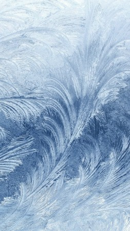 frozen, pattern, glass, snow, winter