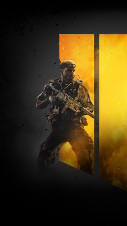 Call of Duty Black Ops 4, poster, 4K (vertical)