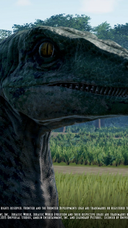 Jurassic World Evolution, screenshot, 4K (vertical)
