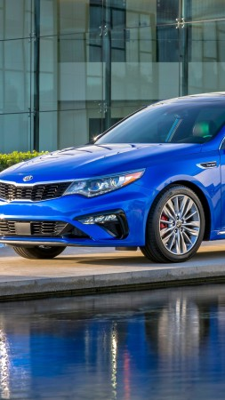 Kia Optima, 2019 Cars, 4K (vertical)