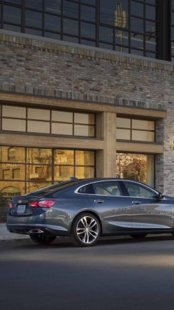 Chevrolet Malibu Electric, 2019 Cars, electric car, 6K (vertical)