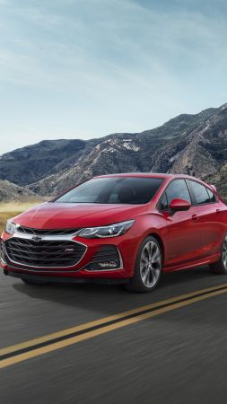 Chevrolet Cruze RS, 2019 Cars, 4K (vertical)