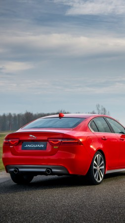 Jaguar XE 300 Sport, 2019 Cars, luxury cars, 6K (vertical)