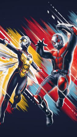 Ant-Man and the Wasp, poster, 4K (vertical)