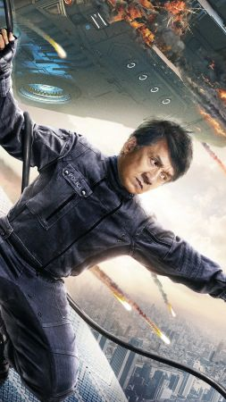 Bleeding Steel, Jackie Chan, poster, 4K (vertical)