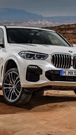BMW X5, SUV, 2019 Cars, 4K (vertical)