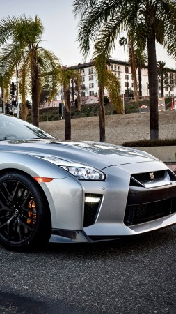 Nissan GT-R Premium, 2018 Cars, luxury cars (vertical)