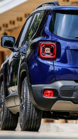 Jeep Renegade, SUV, 2019 Cars, 5K (vertical)