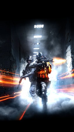 Battlefield Hardline, game, shooter, soldier, gun, fire, shooting, tunnel, screenshot, 4k, 5k, PC, 2015 (vertical)