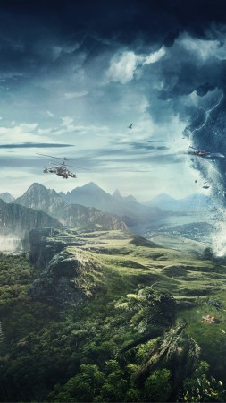 Just Cause 4, E3 2018, poster, 8K (vertical)