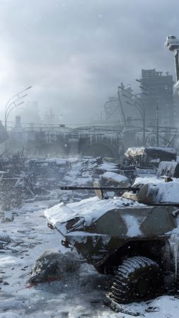 Metro Exodus, E3 2018, screenshot, 4K (vertical)