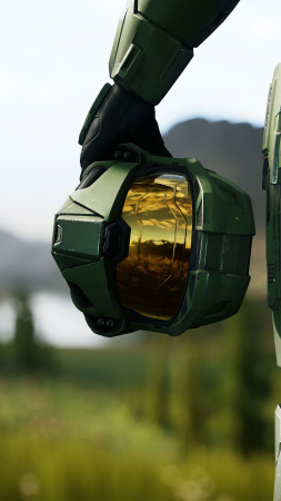 Halo Infinite, E3 2018, screenshot, 4K (vertical)