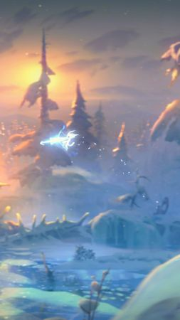 Ori and the Will of the Wisps, E3 2018, screenshots, 4K (vertical)