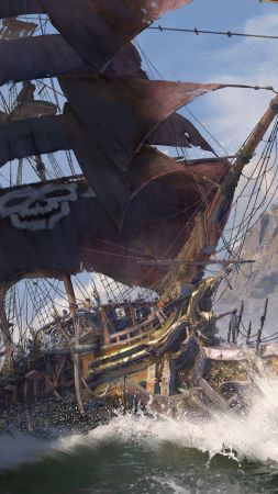 Skull & Bones, E3 2018, artwork, 5K (vertical)