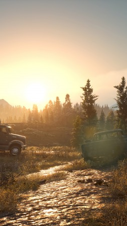 Days Gone, E3 2018, screenshot, 4K (vertical)