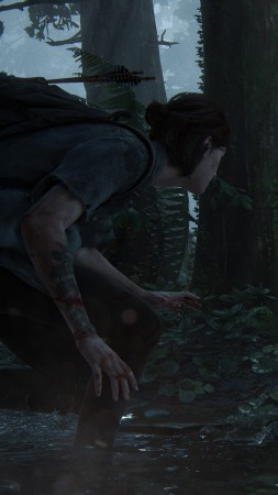 The Last of Us: Part 2, E3 2018, screenshot, 4K (vertical)