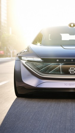 Byton K-Byte Concept, electric car, 2018 Cars (vertical)