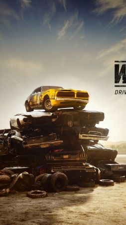 Wreckfest, Next Car Game, E3 2018, poster, 4K (vertical)