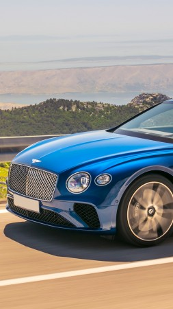 Bentley Continental GT, 2019 Cars, 5K (vertical)