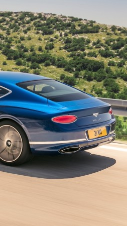 Bentley Continental GT, 2019 Cars, 4K (vertical)
