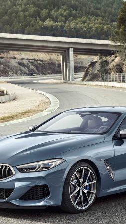 BMW 8-Series Coupe, 2019 Cars, 4K (vertical)