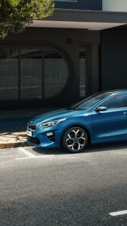 Kia Ceed, 2019 Cars, 4K (vertical)