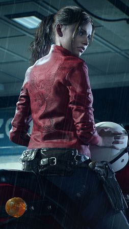 Resident Evil 2, E3 2018, screenshot, 4K (vertical)