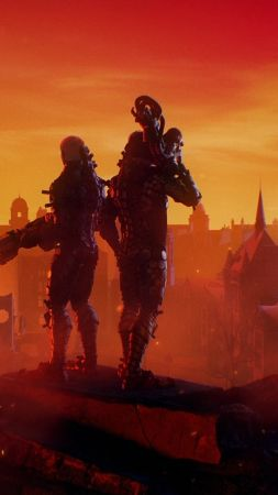 Wolfenstein: Youngblood, E3 2018, poster, 4K (vertical)