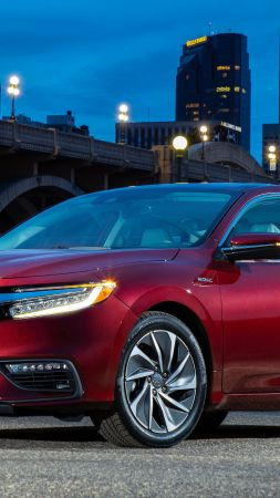 Honda Insight Hybrid, 2019 Cars, 5K (vertical)