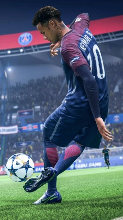 FIFA 19, E3 2018, screenshot, 8K (vertical)