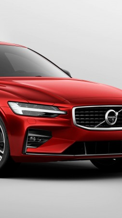 Volvo S60, 2019 Cars, 4K (vertical)