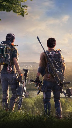 Tom Clancy's The Division 2, E3 2018, poster, 7K (vertical)