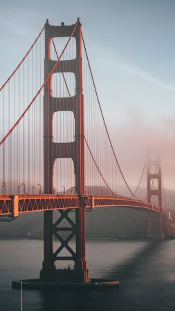 Bridge, Golden Gate, 6K (vertical)