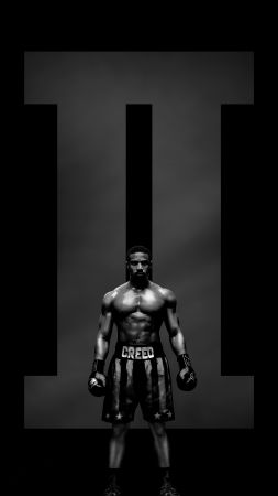 Creed 2, Adonis Johnson, poster, 8K (vertical)