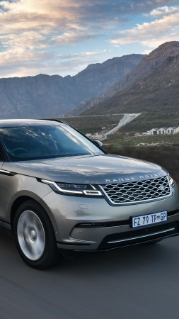 Range Rover Velar S, SUV, 2018 Cars, luxury cars, 5K (vertical)