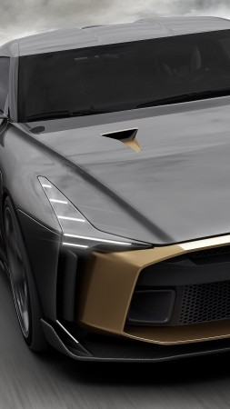 Nissan GT-R50 Italdesign Concept, 2018 Cars (vertical)