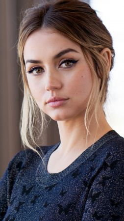 Ana de Armas, actress, 5K (vertical)