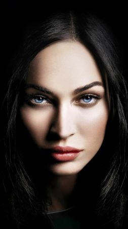 Megan Fox, actress, 4K (vertical)