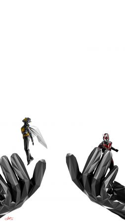 Ant-Man and the Wasp, artwork, 4K (vertical)