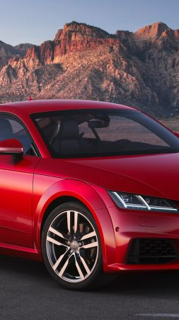 Audi TT Quattro Coupe, 2019 Cars, 4K (vertical)