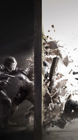Rainbow Six: Siege, Best Game, shooter, fps, PS, PS4, Xbox One (vertical)